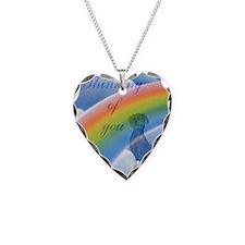 Weimaraner sympathy card 2 Necklace Heart Charm
