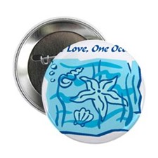 """onelove oneocean 2.25"""" Button"""