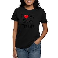 I-Love-My-Silky-Terrier Tee