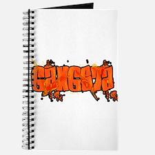 "Graffiti Style ""Gangsta"" Design Journal"