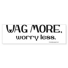 wagmore Bumper Bumper Sticker