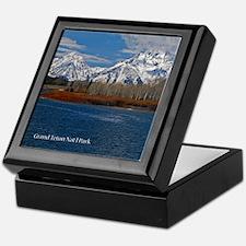 Grand Teton National Park Keepsake Box