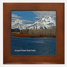 Grand Teton National Park Framed Tile