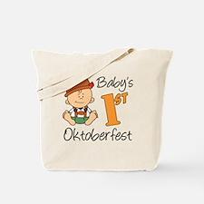 Babys First Oktoberfest Tote Bag