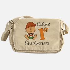 Babys First Oktoberfest Messenger Bag