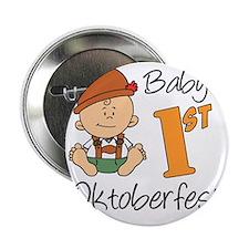 """Babys First Oktoberfest 2.25"""" Button"""