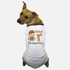 Babys First Oktoberfest Dog T-Shirt