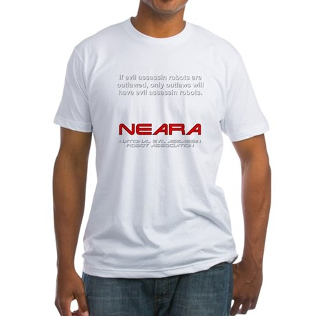 2-neara2 Fitted T-Shirt