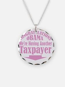 congrats_pink Necklace