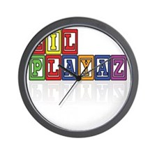 LP colors Wall Clock