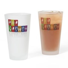 LP colors Drinking Glass