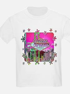 Las Vegas - Hot Pink! Kids T-Shirt