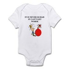 jewish humor gifts and t-shir Infant Bodysuit