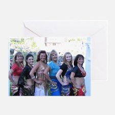 Belly Dancing 17 Greeting Card