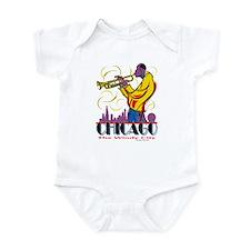Chicago Jazz Guy Infant Bodysuit