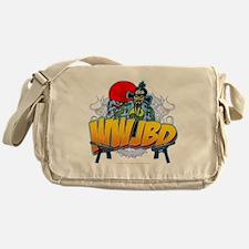 wwjbd_whiteshirt Messenger Bag