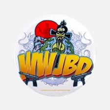 "wwjbd_whiteshirt 3.5"" Button"