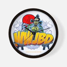 wwjbd_whiteshirt Wall Clock