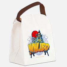 wwjbd_whiteshirt Canvas Lunch Bag