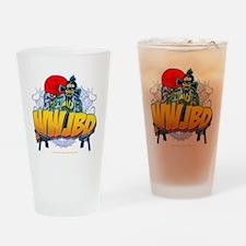wwjbd_whiteshirt Drinking Glass