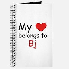 My heart belongs to bj Journal