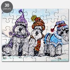 Christmas cap Puzzle