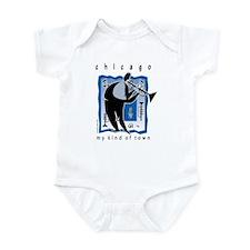 Chicago Trumpet Guy Infant Bodysuit