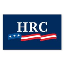 HRC 2008 Rectangle Decal