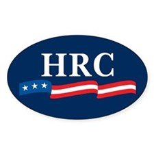 HRC 2008 Oval Decal