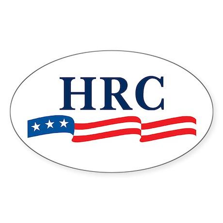 HRC 2008 Oval Sticker