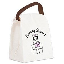 Nursing Student Canvas Lunch Bag