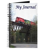 Train Journals & Spiral Notebooks