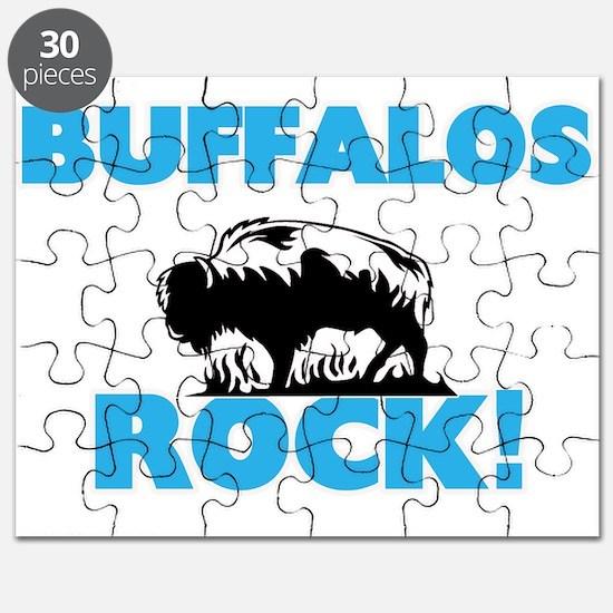 Buffalos rock! Puzzle