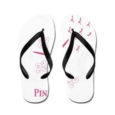 Powered By Pink 2 Flip Flops