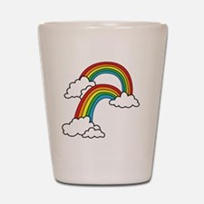 doublerainbow2 Shot Glass