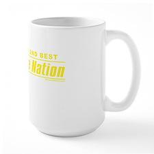 WolverineNation LB TYellow Mug