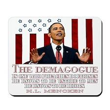 Demogogue darks Mousepad
