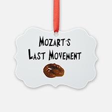 Mozarts Last Movement Ornament
