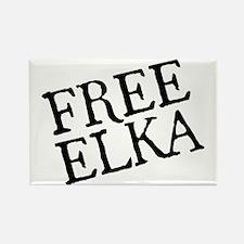 free-elka-blk Rectangle Magnet