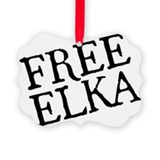 free-elka-blk Ornament