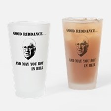 2-cheney hell b Drinking Glass