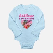 LOVE BROOKLYN Long Sleeve Infant Bodysuit