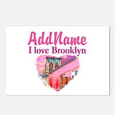 LOVE BROOKLYN Postcards (Package of 8)