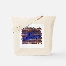 """Graffiti Style """"Fo' Shizzle"""" Design Tote Bag"""