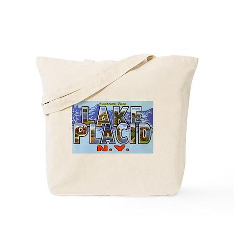 Lake Placid New York Tote Bag