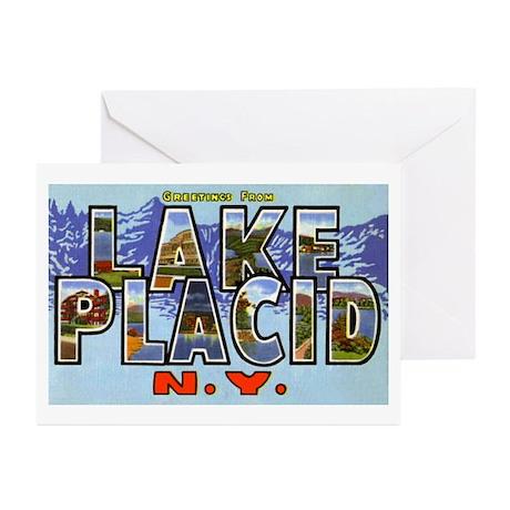 Lake Placid New York Greeting Cards (Pk of 10)