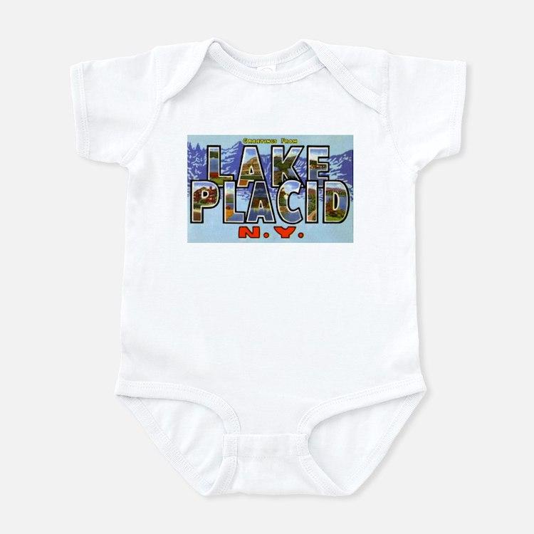 Lake Placid New York Infant Bodysuit