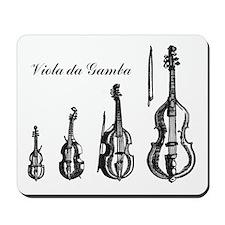 Viola da Gamba Mousepad