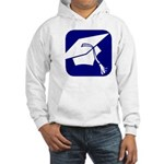 Graduation Cap Hooded Sweatshirt