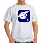 Graduation Cap Ash Grey T-Shirt